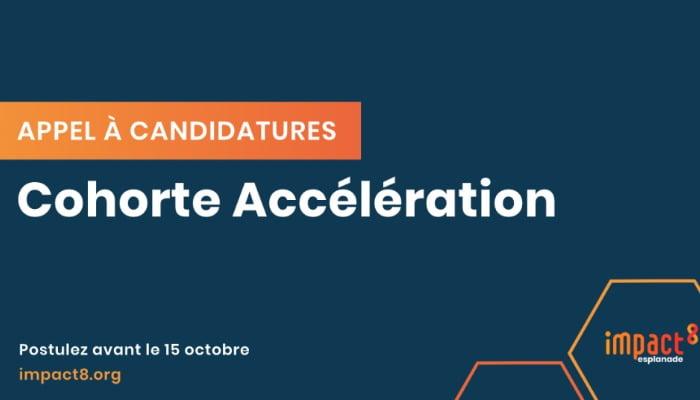 Blog Appel à Candidatures Accélération