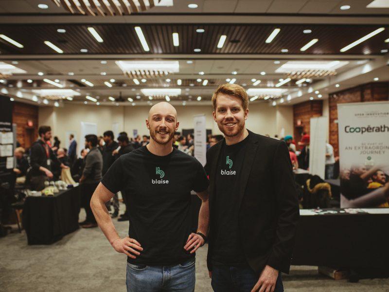 Ben Hudson et Justin Hunt, co-fondateurs de Blaise Transit
