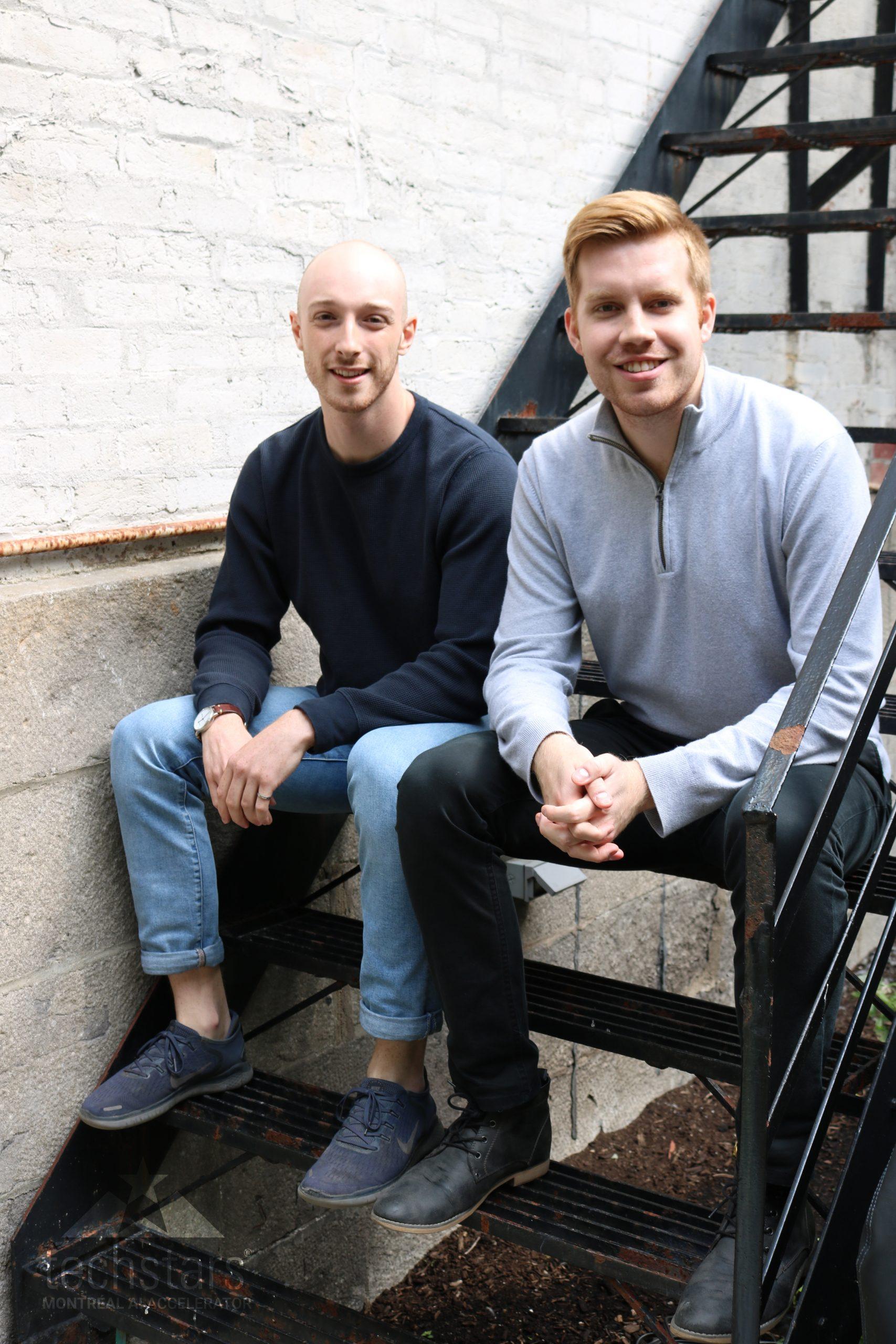 Ben Hudson & Justin Hunt, cofondateurs de Blaise Transit
