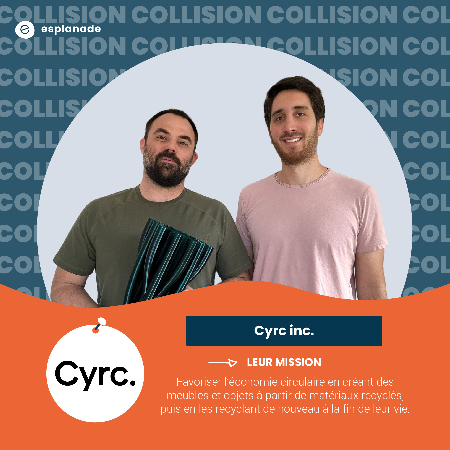 Guy Snover et Daniel Martinez de Cyrc inc.