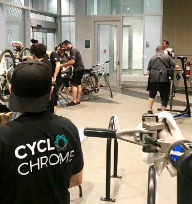 Des employés de CycloChrome